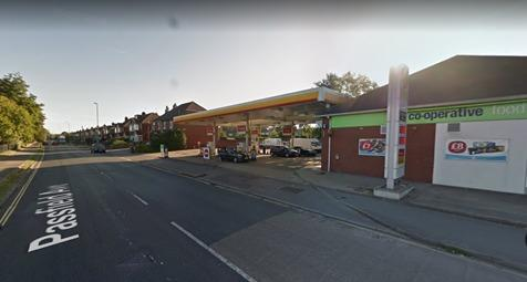 Monksbrook Filling Station, Passfield Avenue. Photo from: Google Maps