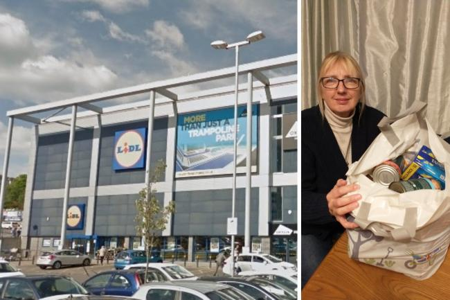 Jackie Henshall is looking for the good Samaritan who bought her shopping in Lidl at Thornhill, Southampton