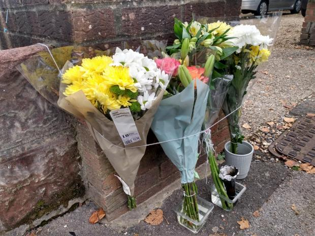 Daily Echo: Flowers at the scene