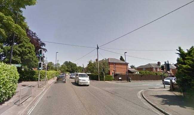 The junction of the A334 Thornhill Park Road and Hinkler Road. Picture: Google Maps