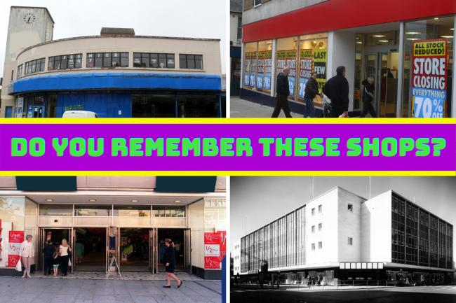 Long lost shops of Southampton - can you still name them all?