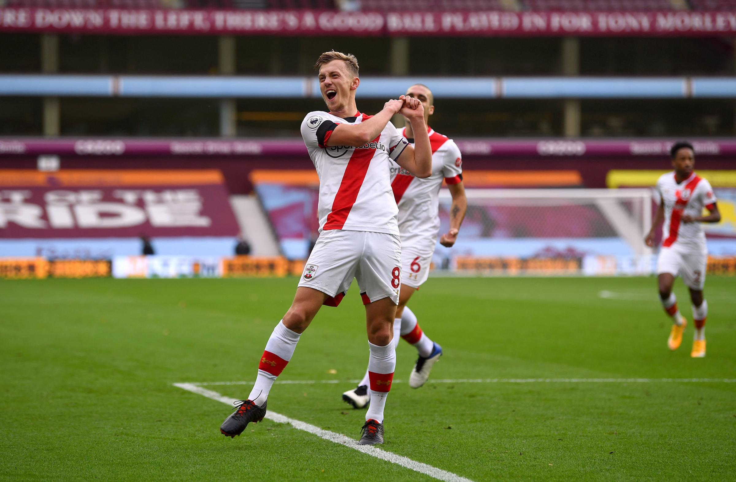 Ward-Prowse nominated for Premier League player of the month