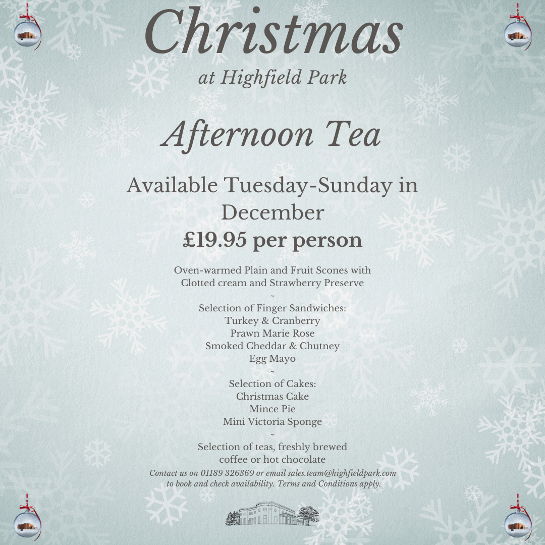 Festive Afternoon Teas