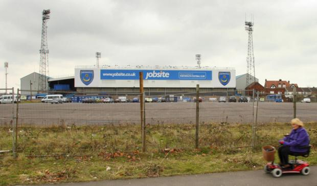 Fratton Park - not a happy place to be
