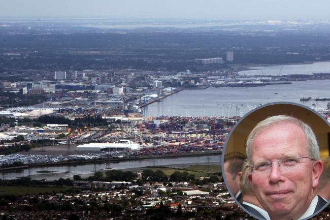 Brian Johnson, chair of Solent LEP, inset, says the pandemic could have cost up to 27,000 jobs
