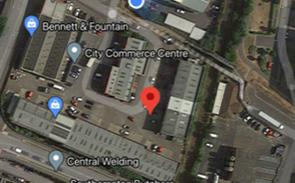 Daily Echo: City Commerce Centre industrial park, Southampton (Google Maps)