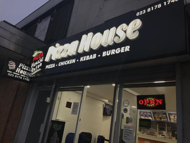 Pizza House takeaway on St Mary's Street