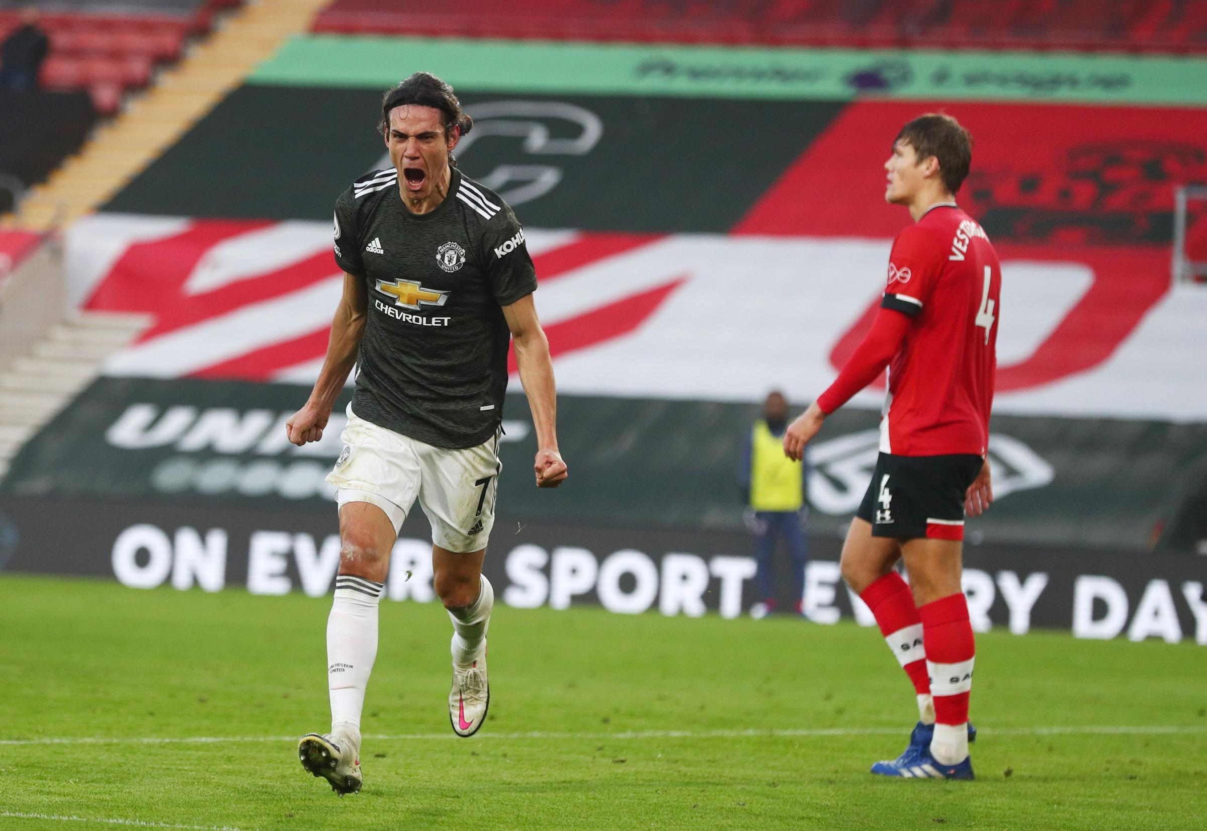 Cavani the catalyst as Saints sunk by United comeback