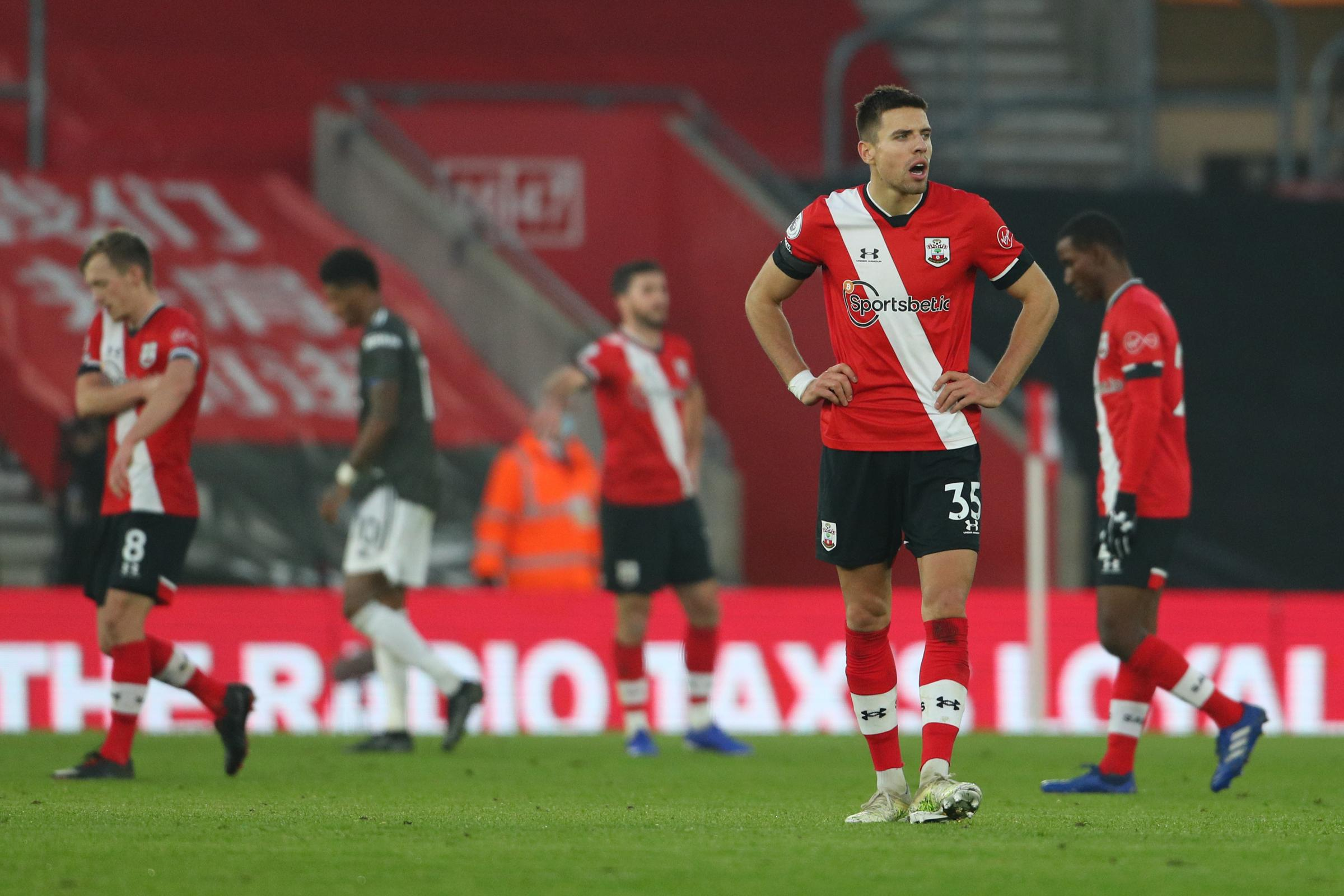 'Hard work will be the key now' - Bednarek wants Saints to react after agonising United setback