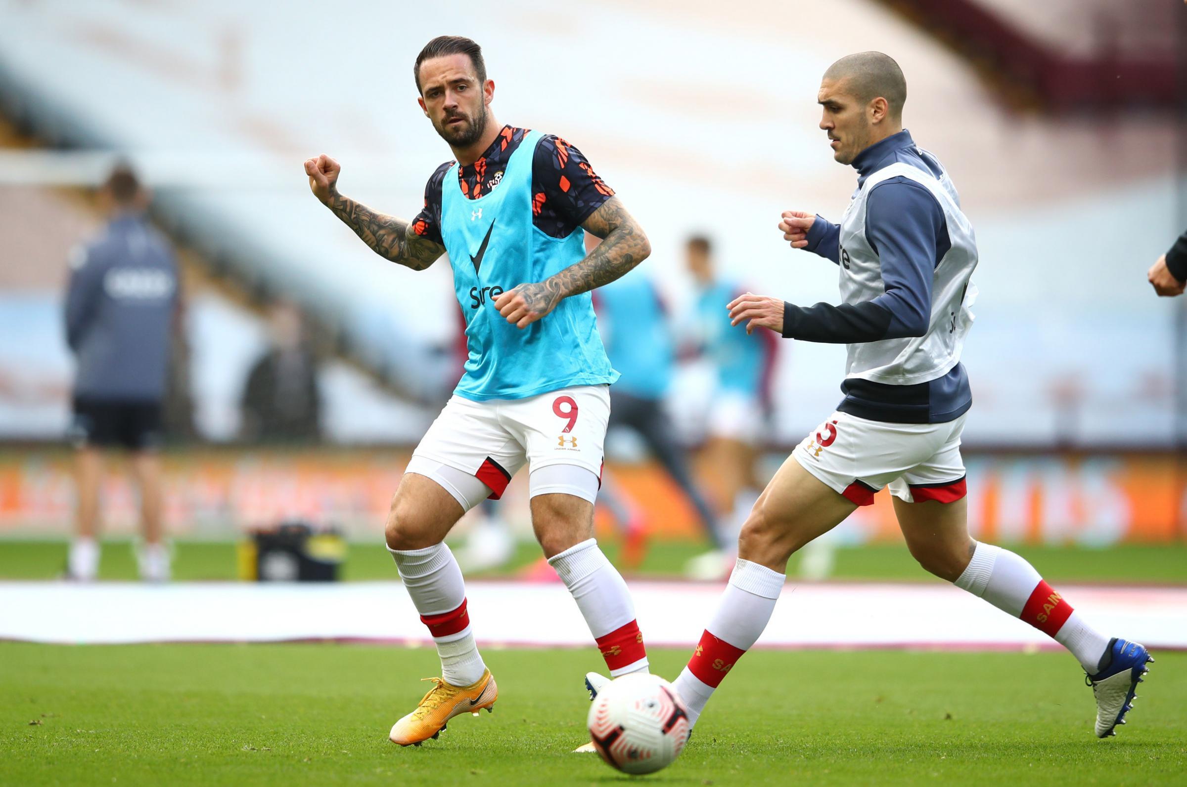 Hasenhuttl unsure whether Ings will return against Brighton