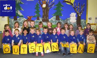 The Yellow Dot Kindergarten in Millers Dale, Chandler's Ford has been judged outstanding by Ofsted.