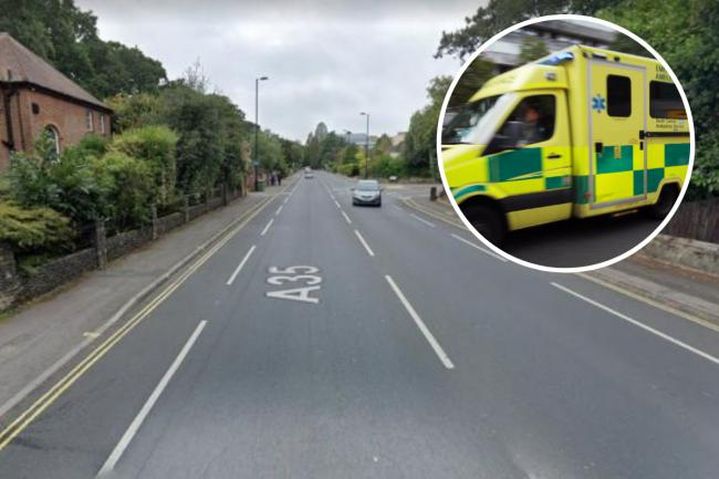 Hunt for car after hit and run on busy Southampton road