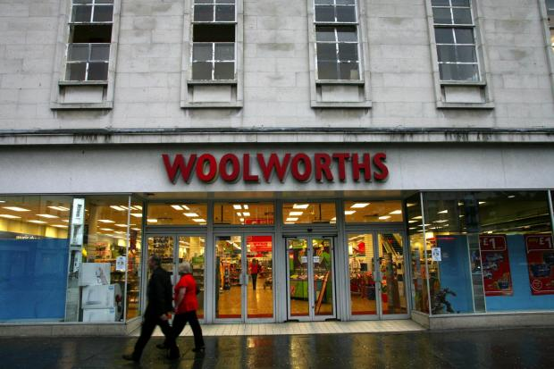 Daily Echo: Woolworths, Above Bar, which is closing