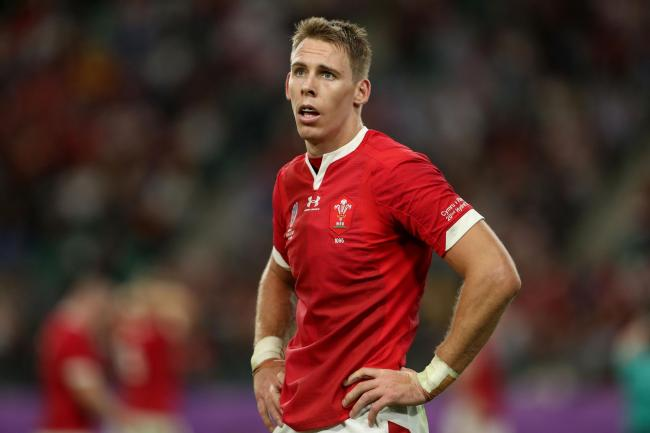 Liam Williams in action for Wales