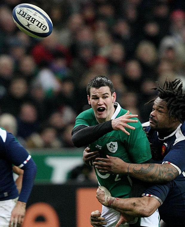 Daily Echo: Jonathan Sexton for Ireland against France