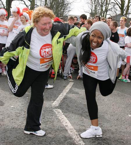 Thousands rise to the Sport Relief challenge in Southampton