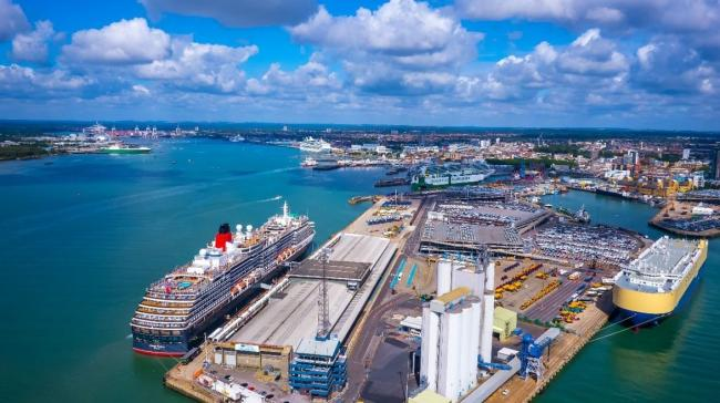 The Port of Southampton. Photo: ABP