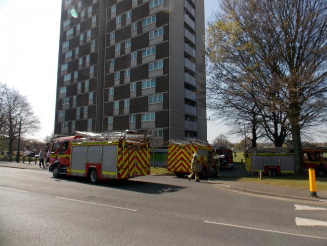 Fire Millbrook Towers