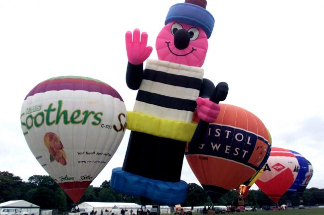 SOUTHAMPTON BALLOON FESTIVAL, COMMON.