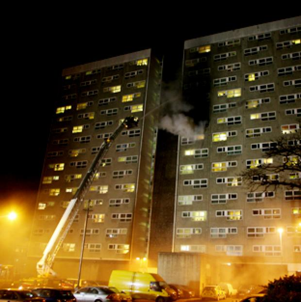 Fireman tells how he found colleagues in burning flat
