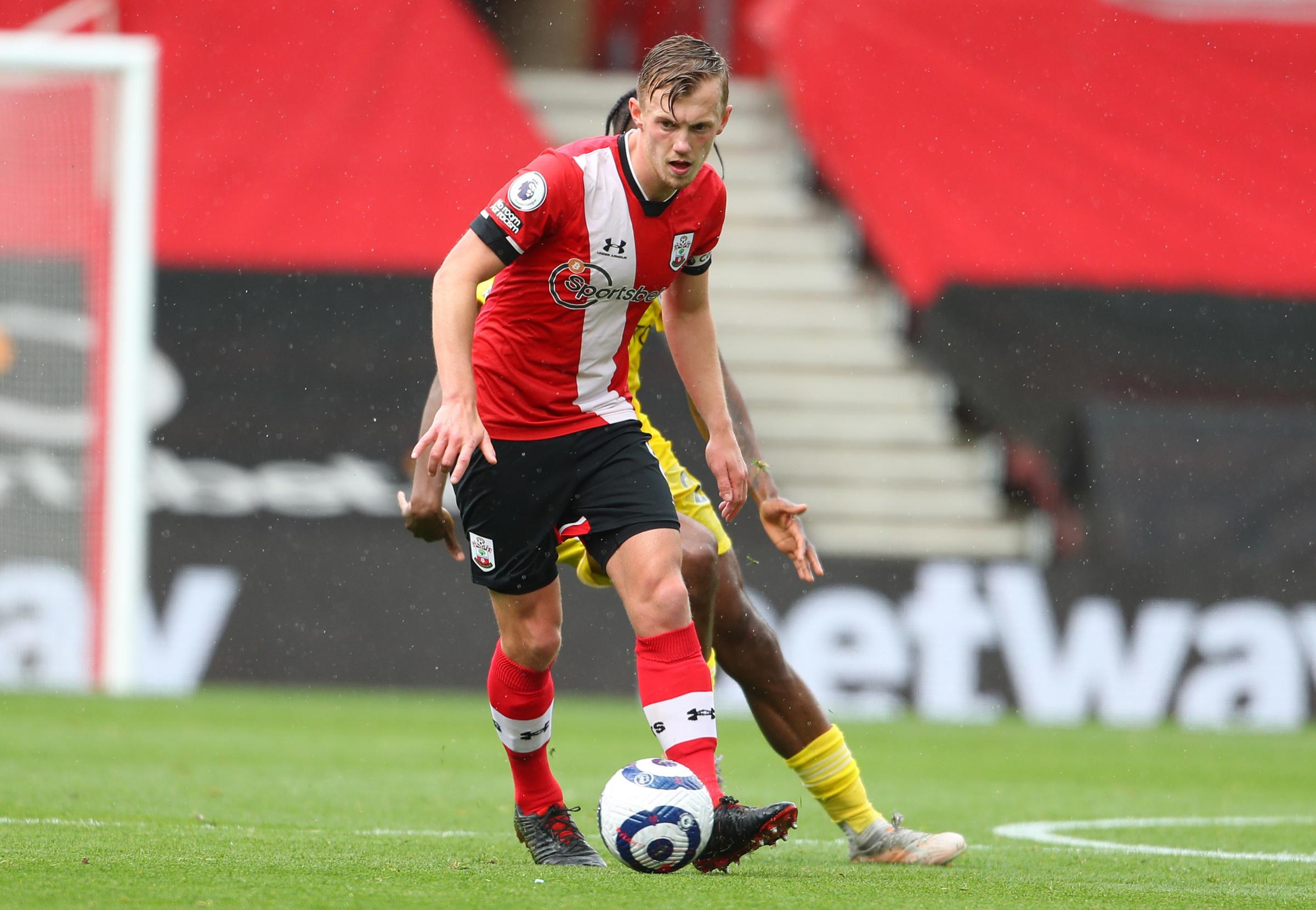 James Ward-Prowse fit to feature against Everton