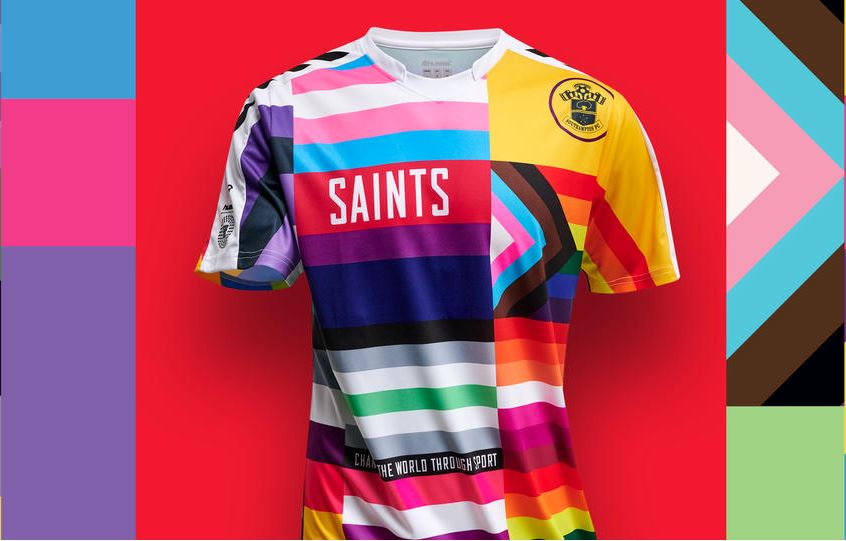 Southampton FC to wear special rainbow shirt this weekend