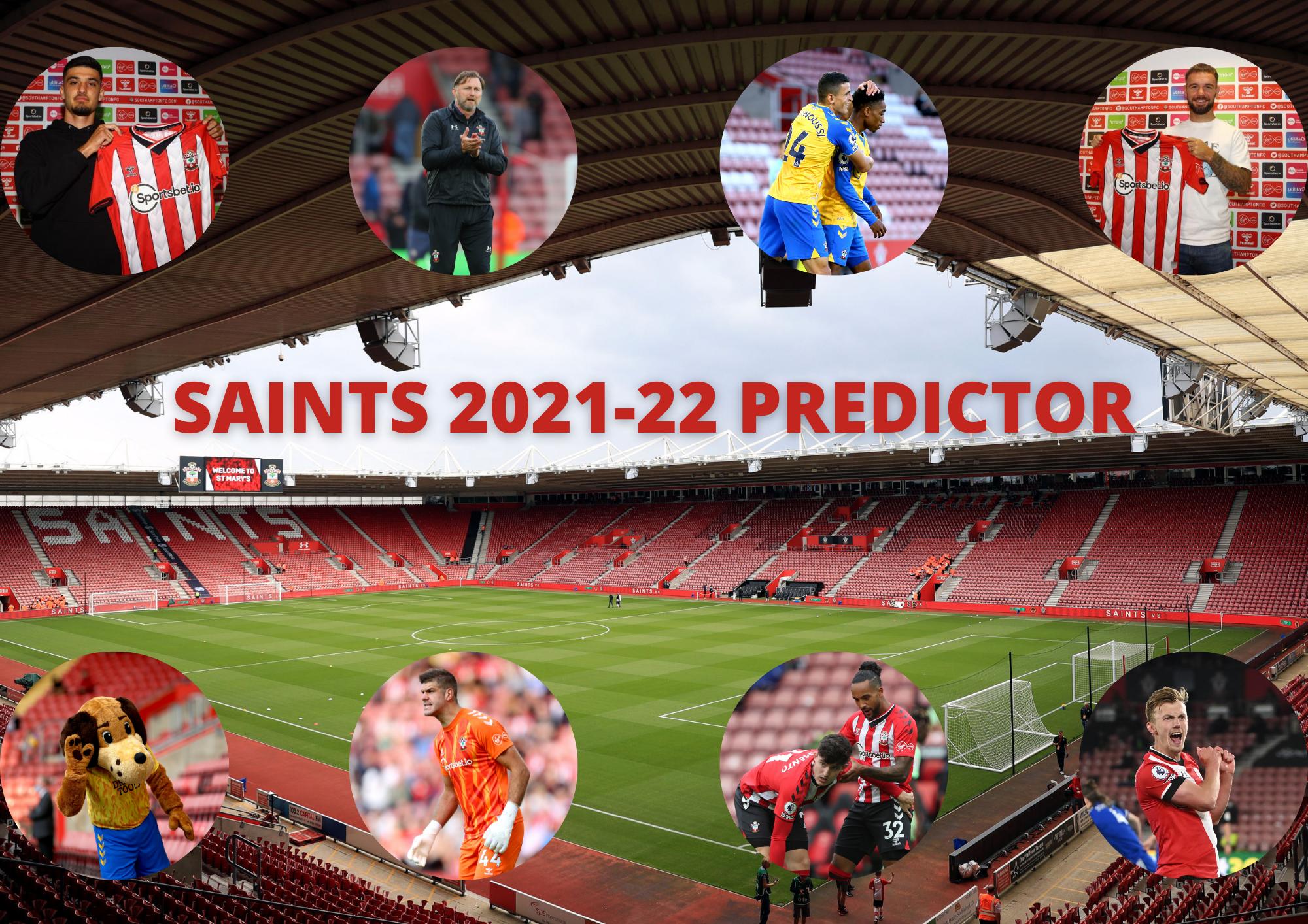 Southampton FC 2021-22 Premier League season predictor