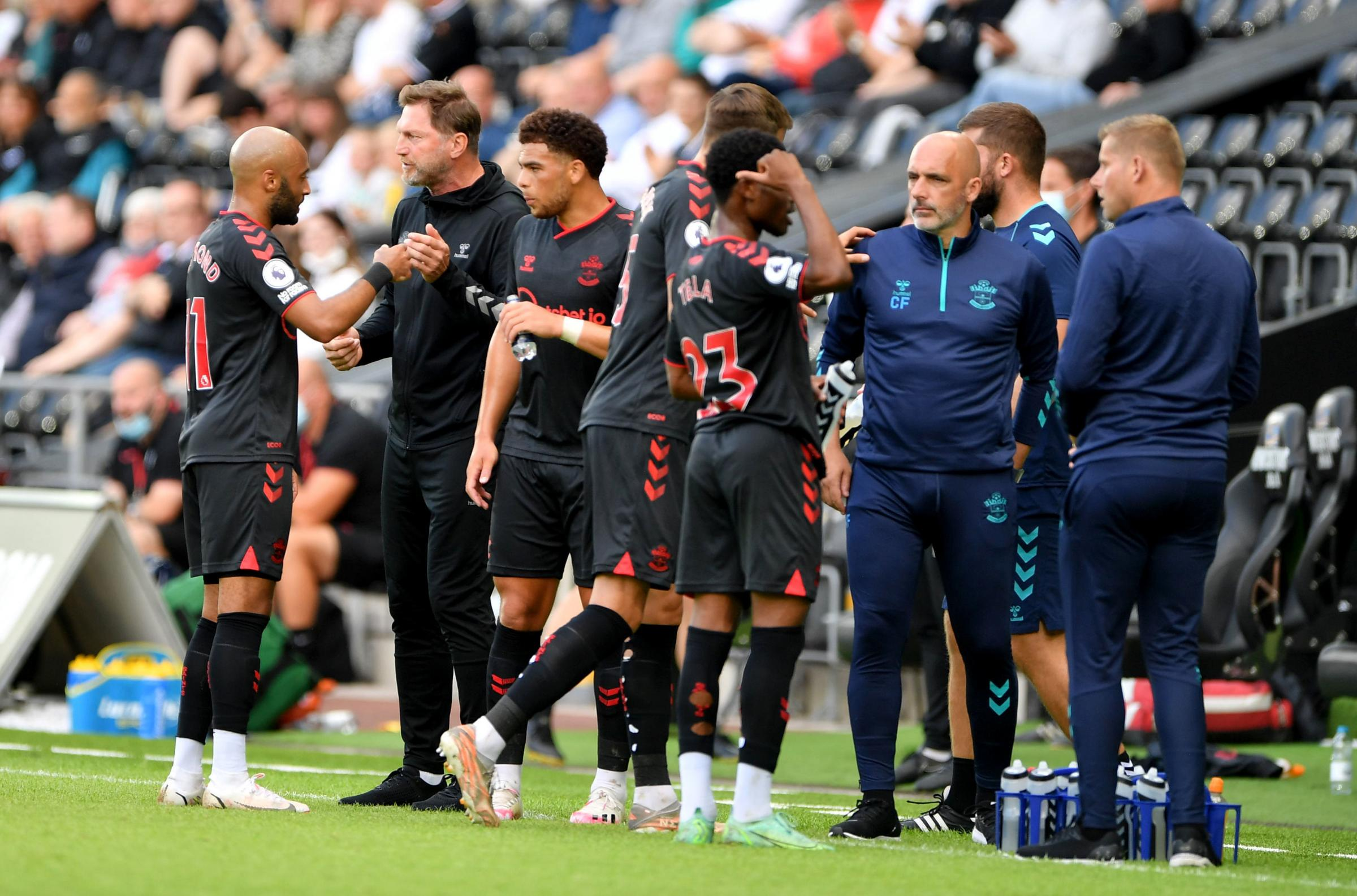 Ralph Hasenhuttl is happier with Southampton's squad size