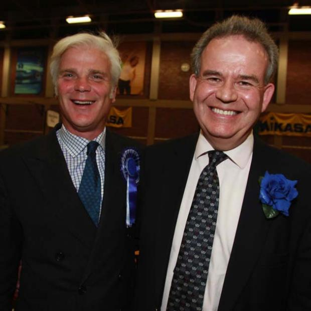 Desmond Swayne and Julian Lewis
