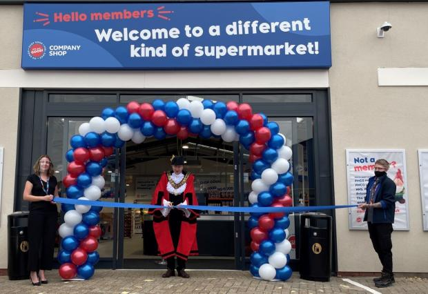 Daily Echo: Company Shop Southampton officially opened its doors to buyers yesterday for the first time.