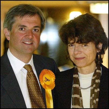 MP Chris Huhne splits from wife