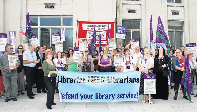 Talks to be launched over library dispute