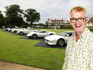 The seven Ferraris at Chewton Glen