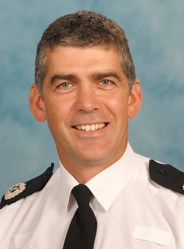 Hampshire Constabulary's DCC Andy Marsh