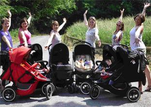 BUggy push for National Childbirth Trust
