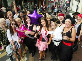 Hen party pirates