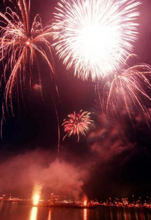 Fireworks will draw crowds