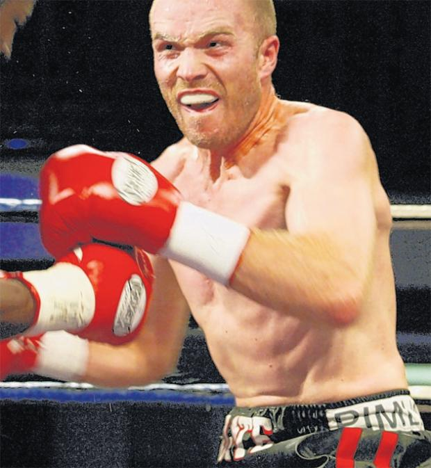 Barney back to box for Southern Area title