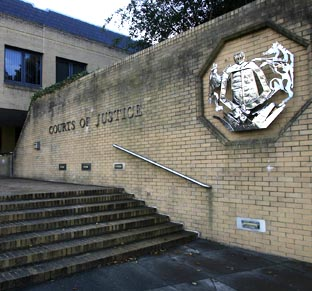 ON TRIAL: The case is being heard at Southampton Crown Court