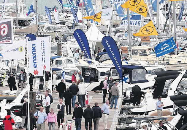 Boat show to attract over 120,000 people to city