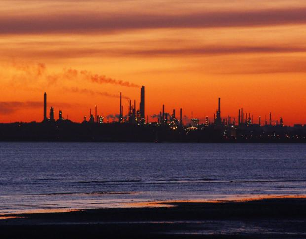 Fawley oil refinery
