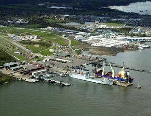 Daily Echo: Marchwood Military Port