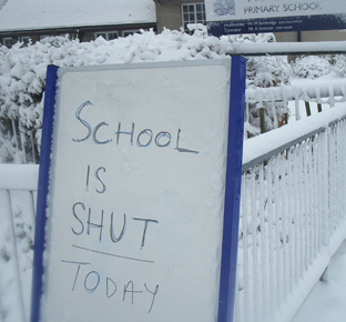Hampshire school closures - Friday