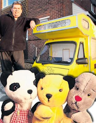 Prop man brings Sooty's famous campervan back to life for