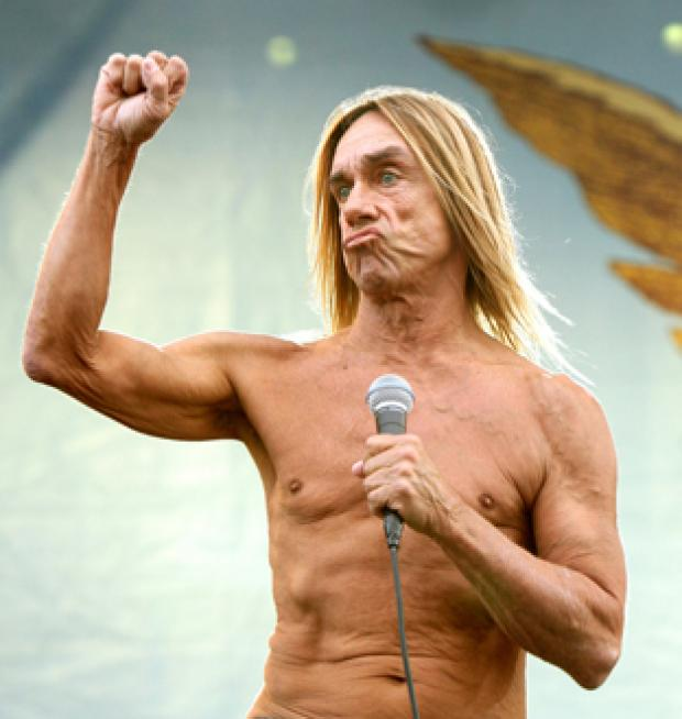 ROCK LEGEND: Iggy Pop