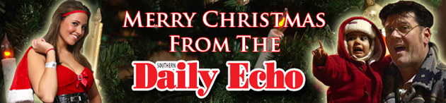 Daily Echo: Disaster banner Daily Echo Christmas.jpg for the homepage