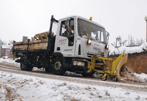 Hampshire prepared for weekend ice and snow