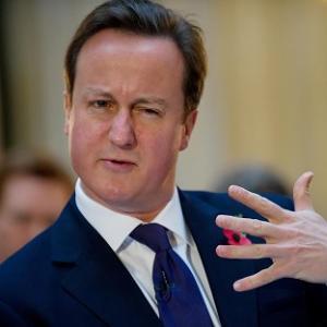 David Cameron - shudder