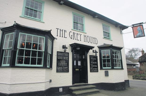The Grey Hound, Broughton