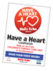 Daily Echo: Have a Heart poster